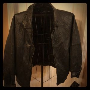 NWT Bill Blass Men's Lambskin Jacket